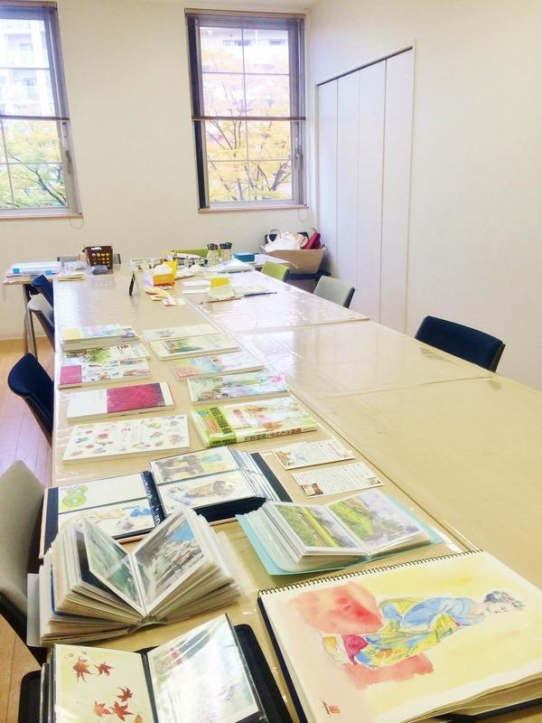 カルチャーハウス香里ケ丘で水彩画体験講座を開きました♪