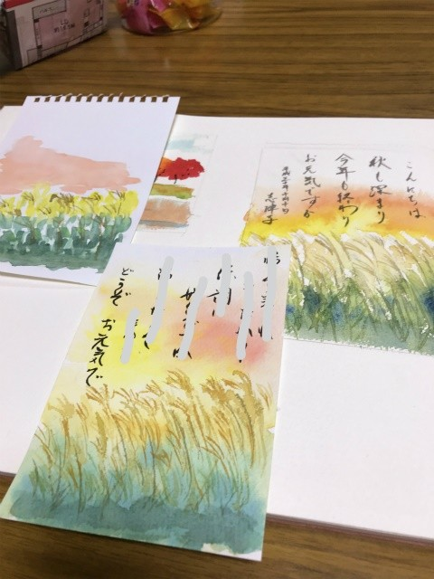 来週30日(火)伏見スケッチ会&31日(水)カルチャー花講座体験レッスンです