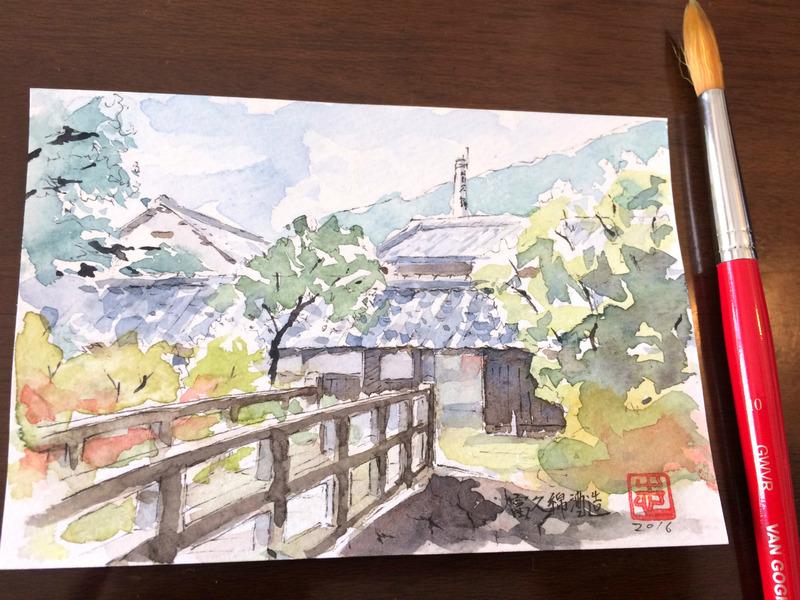 【生徒の皆さんへのご連絡】その1:姫路城&富久錦酒造スケッチバスツアー(11月19日土)動画あり!