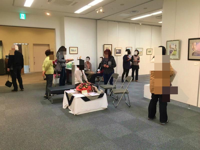 「第三回黒川しづこ透明水彩画展&教室作品展」ご来場ありがとうございました!