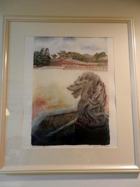 透明水彩画『平安神宮