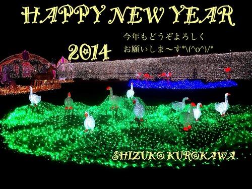 2014年あけましておめでとうございます☆☆☆☆☆