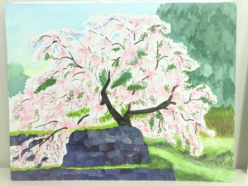 ちょっと出遅れましたが「春の絵」特集