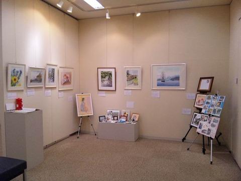 ネットでご来訪の皆様『KUROKAWAの透明水彩画展』を写真盛りだくさんで ご案内しま~す♪