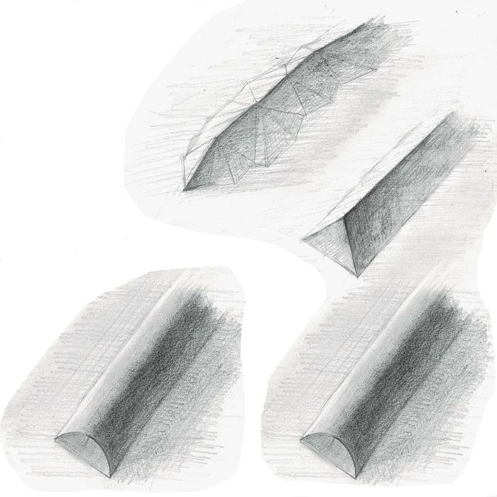 ターミネータ7(明暗境界線)後記「稜線」超簡単図示