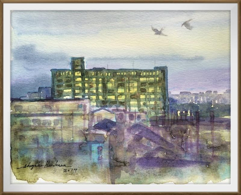 病院から見る枚方の風景 パート7