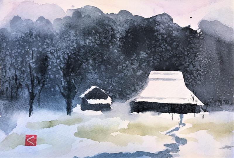 2021.02.01雪の降る里