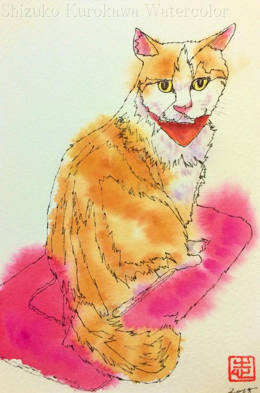 猫ブーム & アートエッセイ「練習について思ふ」