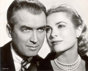 James Stewart & Grace Kelly