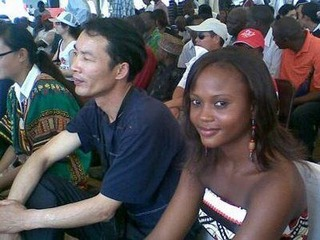 Chinese & African couple 1