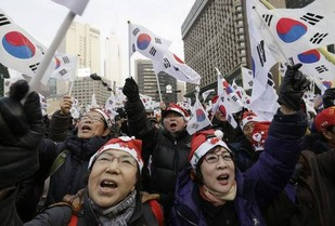 Korean crowd 2