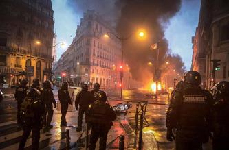France riot 315