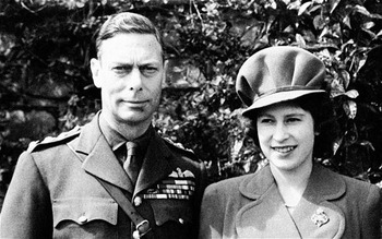 Queen Elizabeth & King George VI