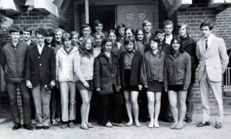 Angela Merkel in 1971