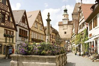 German Village, Rothenburg-ob-der-Tauber