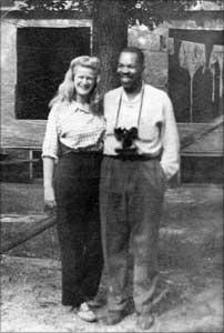 Frank Marshal Davis & Helen Canfield