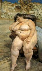 Lucian Freud Sleeping