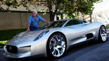 Jay Leno w Jaguar CX75