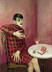 Otto Dix Portrait of the Journalist