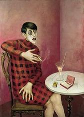 Otto Dix Portrait of the Journalist
