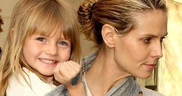 Heidi Klum & Leni 1