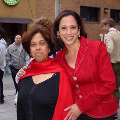 Kamala Harris & mother