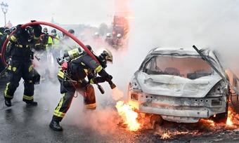 France riot 1