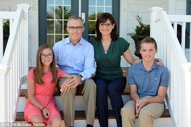 Jill McCabe & family