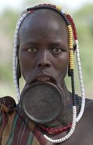 Africa Mursi tribe 1