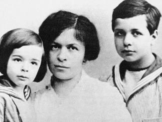Mileva Maric & children