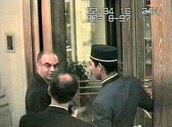 Henri Paul at Ritz Hotel