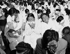 Korean war weeping women
