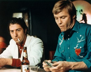 Midnight cowboy Dustin Hoffman & Jon Voight 2