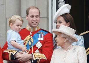 Queen Elizabeth & Prince George