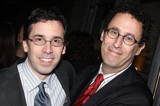 Tony Kushner & Mark Harris 1