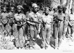 Amilcar Cabral & guerrillas