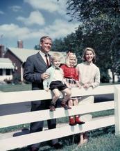 White American family