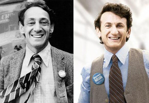 Harvey Milk & Sean Penn