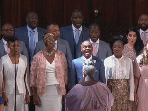 Royal wedding gospel choir 1