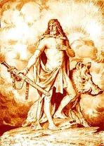 German God Freyr_art