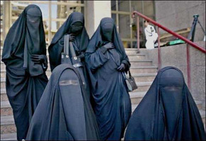 Muslim women 345