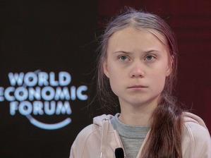 Greta Thunberg at WEF 002