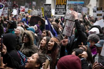 anti-Trump in Chicago