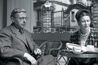 Jean-Paul Sartre & Simone de Beauvoir