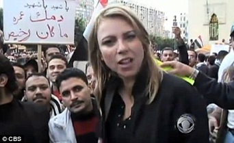 Lara Logan in Egypt