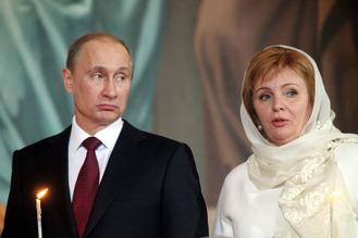Putin & ex-wife Lyudmila 2