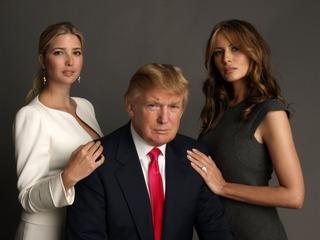 Trump & Melania & Ivanka