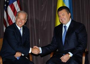 Victor Yanukovych & Joe Biden 1