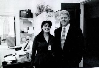 Bill Clinton & Minica