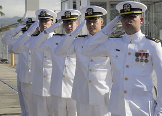 US Navy Officers 2